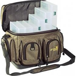 Torba wędkarska +siedem pudełek UJ- XTX03