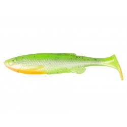 Fat T-Tail Minnow Bulk 13cm - 07-Fluo Green Silver
