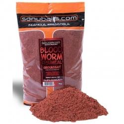 Zanęta Sonubaits Supercrush - Bloodworm Groundbait 2kg.