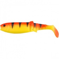 Savage Gear Cannibal Shad 10cm - Golden Ambulance