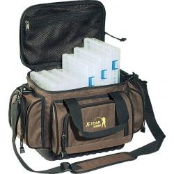 Torba wędkarska Jaxon z usztywnianym dnem i pudełkami UJ-XTX02 Jaxon