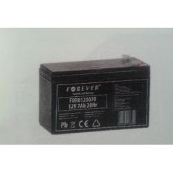Akumulator żelowy AGM Jaxon 12V 7Ah do echosondy