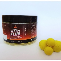 Kulki Space Baits POP UPS FLUO Pineapple Sweetcorn 150ml