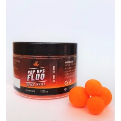 Kulki Space Baits POP UPS FLUO Spice Krill 150ml