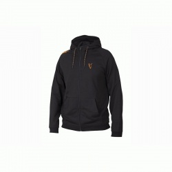 Fox Collection Orange & Black Lightweight Hoodie size XLarge