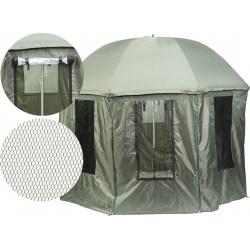 AK-PLX150TV  Parasol wędkarski  Jaxon z osłoną i moskitierą