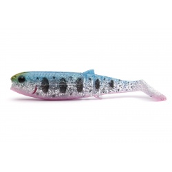 Savage Gear Cannibal  Paddletail 6,8cm 3g BLUE PINK SMOLT UV