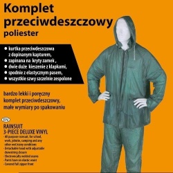 GoodFish Komplet przeciwdeszczowy (kurtka+spodnie) r.XL
