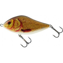 SLIDER FLOATING - 12cm Wobler Salmo Supernatural Golden Crucian