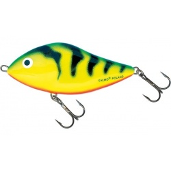 SLIDER FLOATING - 10cm Wobler Salmo Green Tiger