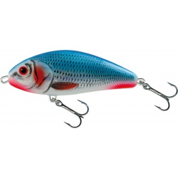 FATSO FLOATING - 10cm Wobler Salmo BLEEDING BLUE SHAD