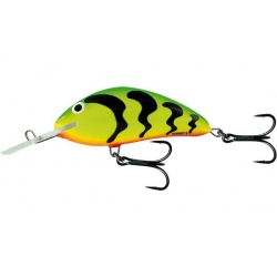 HORNET FLOATING - 9cm Wobler Salmo Green Tigeriger