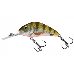 RATTLIN HORNET FLOATING - 4.5cm Wobler Salmo Yellow Holo Perch