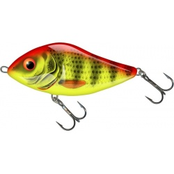 SLIDER FLOATING - 10cm Wobler Salmo Bright Perch