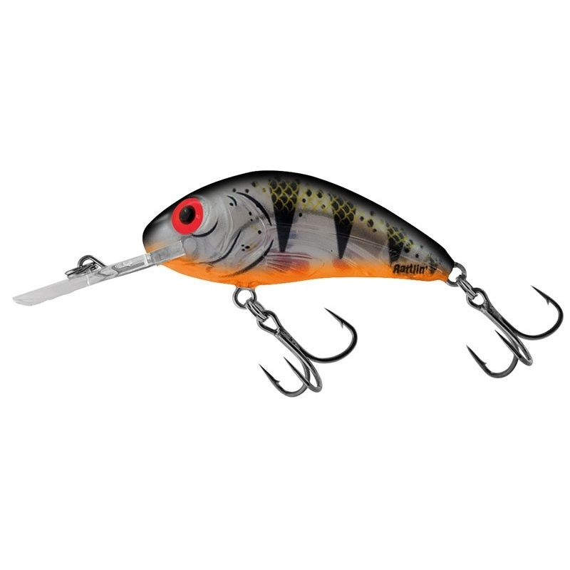 RATTLIN HORNET FLOATING - 4.5cm Wobler Salmo Clear Young Perch