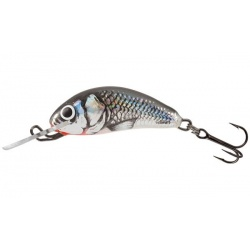 Hornet SINKING - 2,5cm Wobler Salmo Holographic Grey Shiner